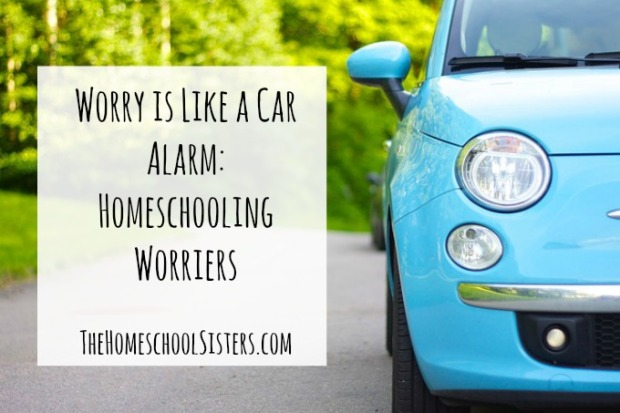 Worry is Like a Car Alarm Homeschooling Worriers