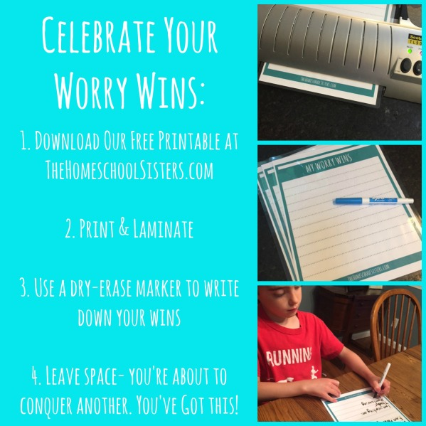 Worry Wins Instructions